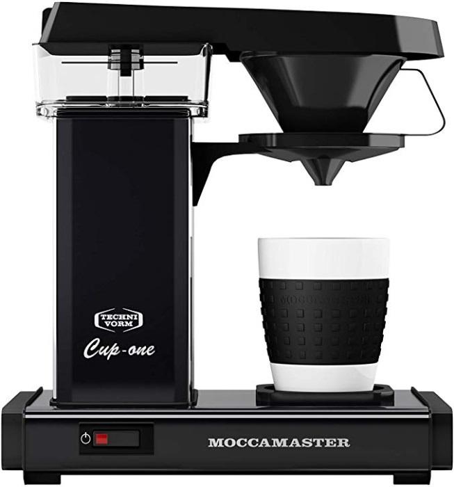 Moccamaster Kaffeeautomat Cup one 69221 Matt Black | Kamasega
