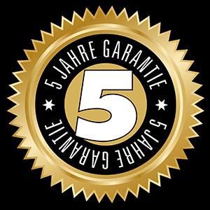 5 Jahre Garantie auf CafeRomatica NICR 675 Titan/Chrom | Kamasega