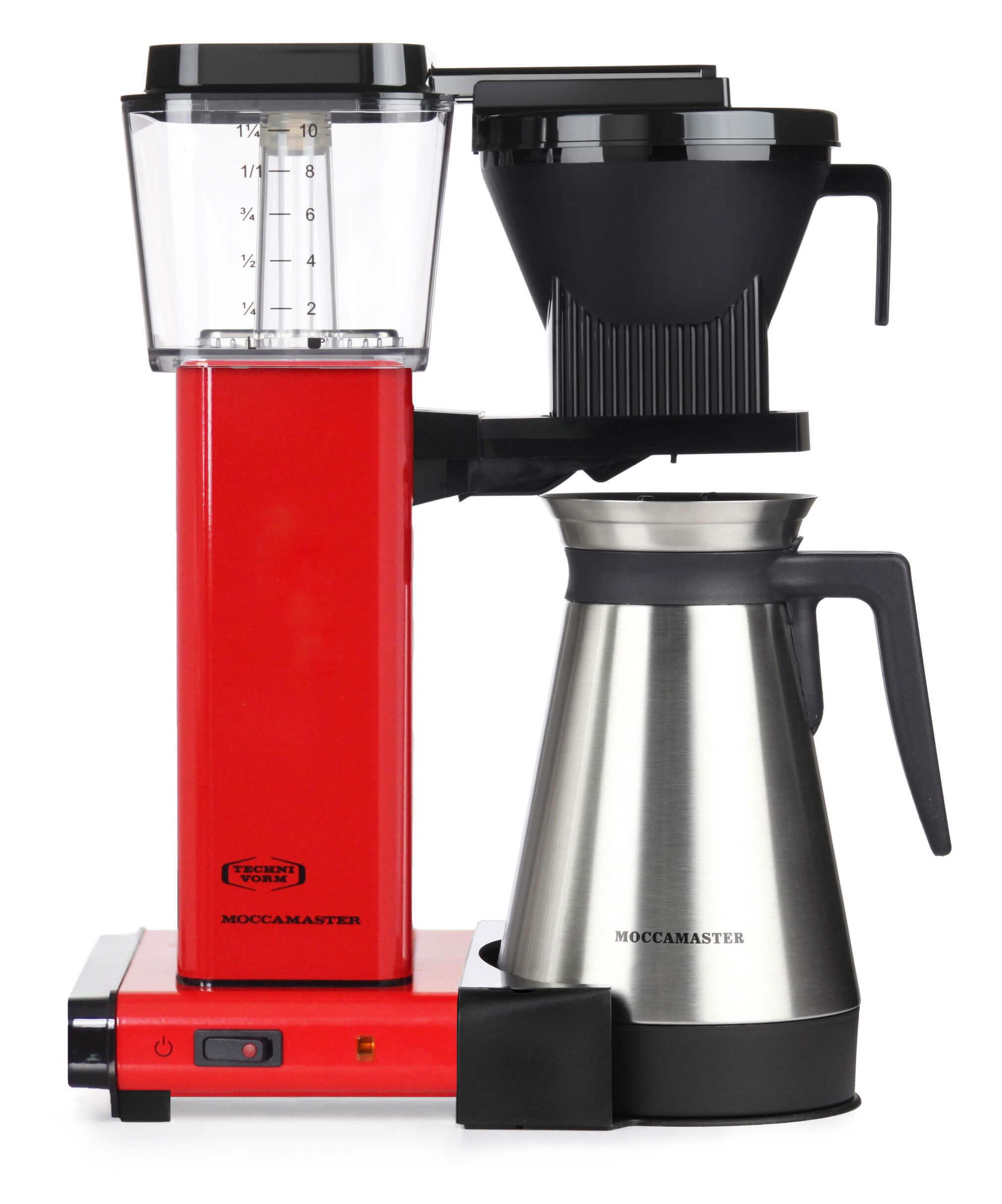 Moccamaster Kaffeeautomat KBGT 741 Thermo Red | Kamasega
