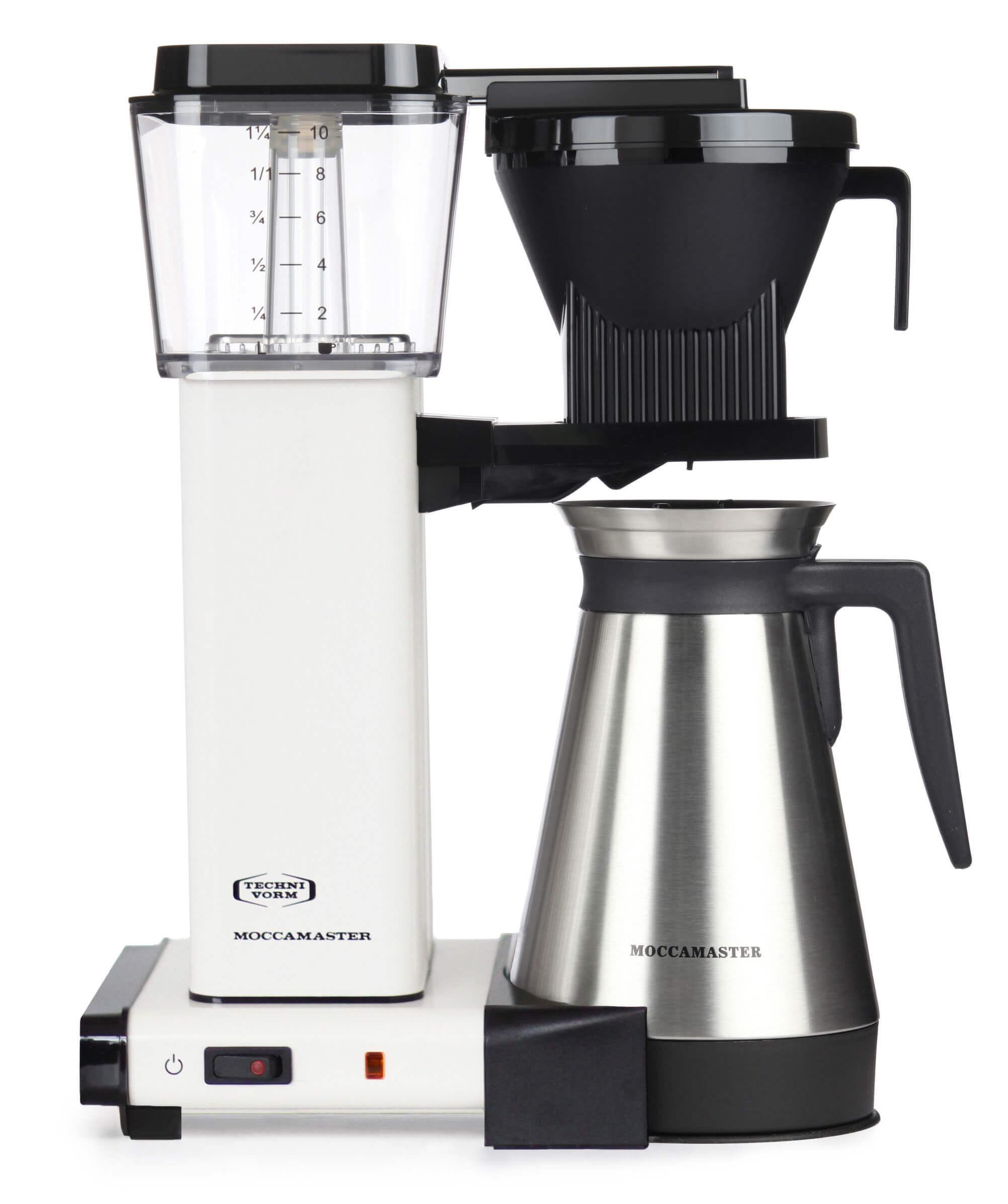 Moccamaster Kaffeeautomat KBGT 741 Thermo off White | Kamasega