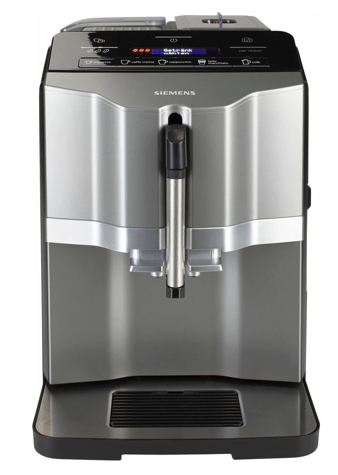 Siemens Kaffeevollautomat EQ s300 Titan Silber | Kamasega