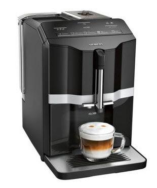 Siemens Kaffeevollautomat EQ s300 schwarz | Kamasega