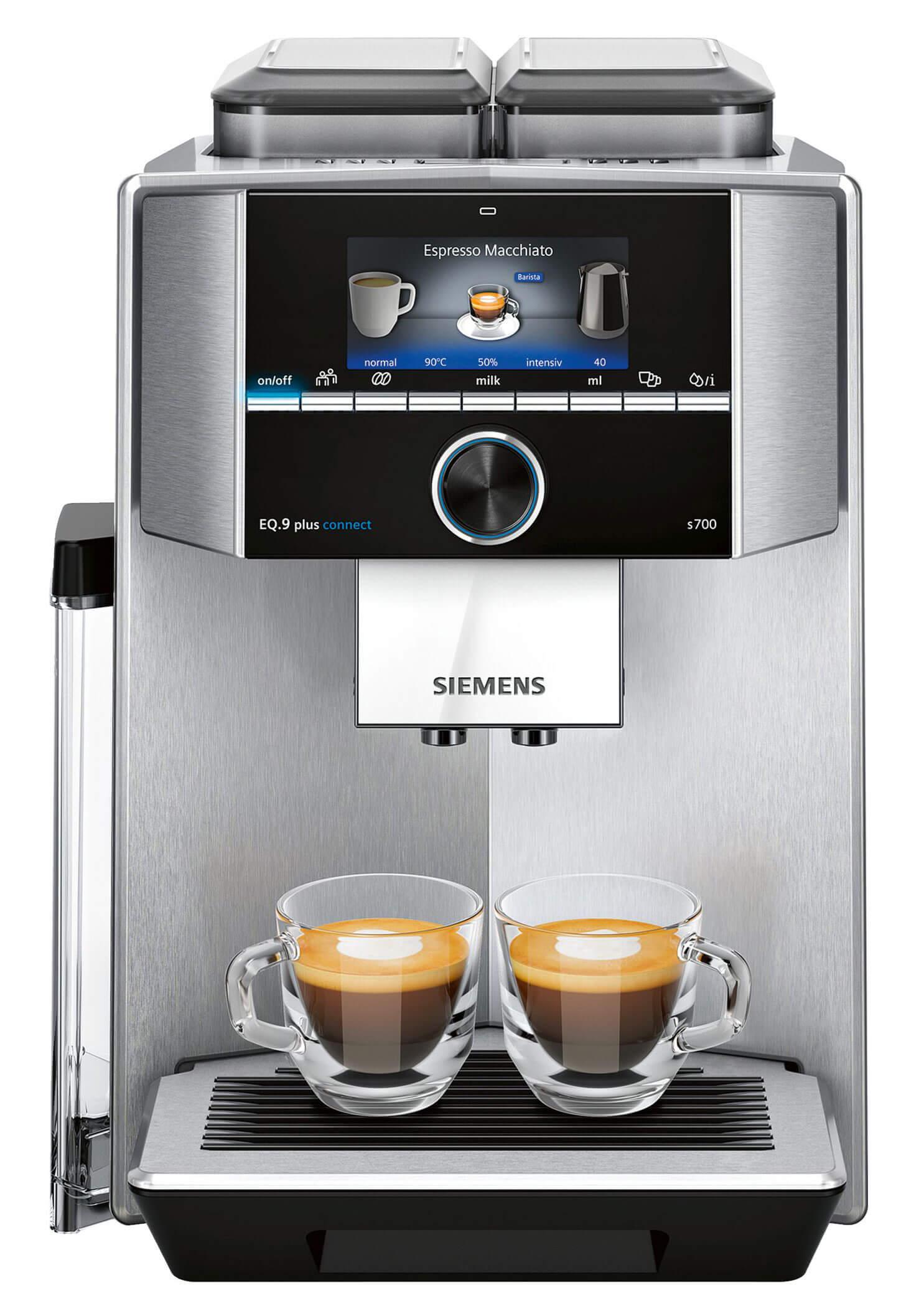 Siemens Kaffeevollautomat EQ9 plus connect S700 | Kamasega