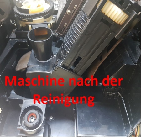Maschine nach Reinigung | Kamasega