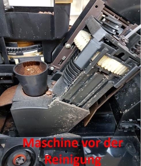 Maschine vor Reinigung | Kamasega