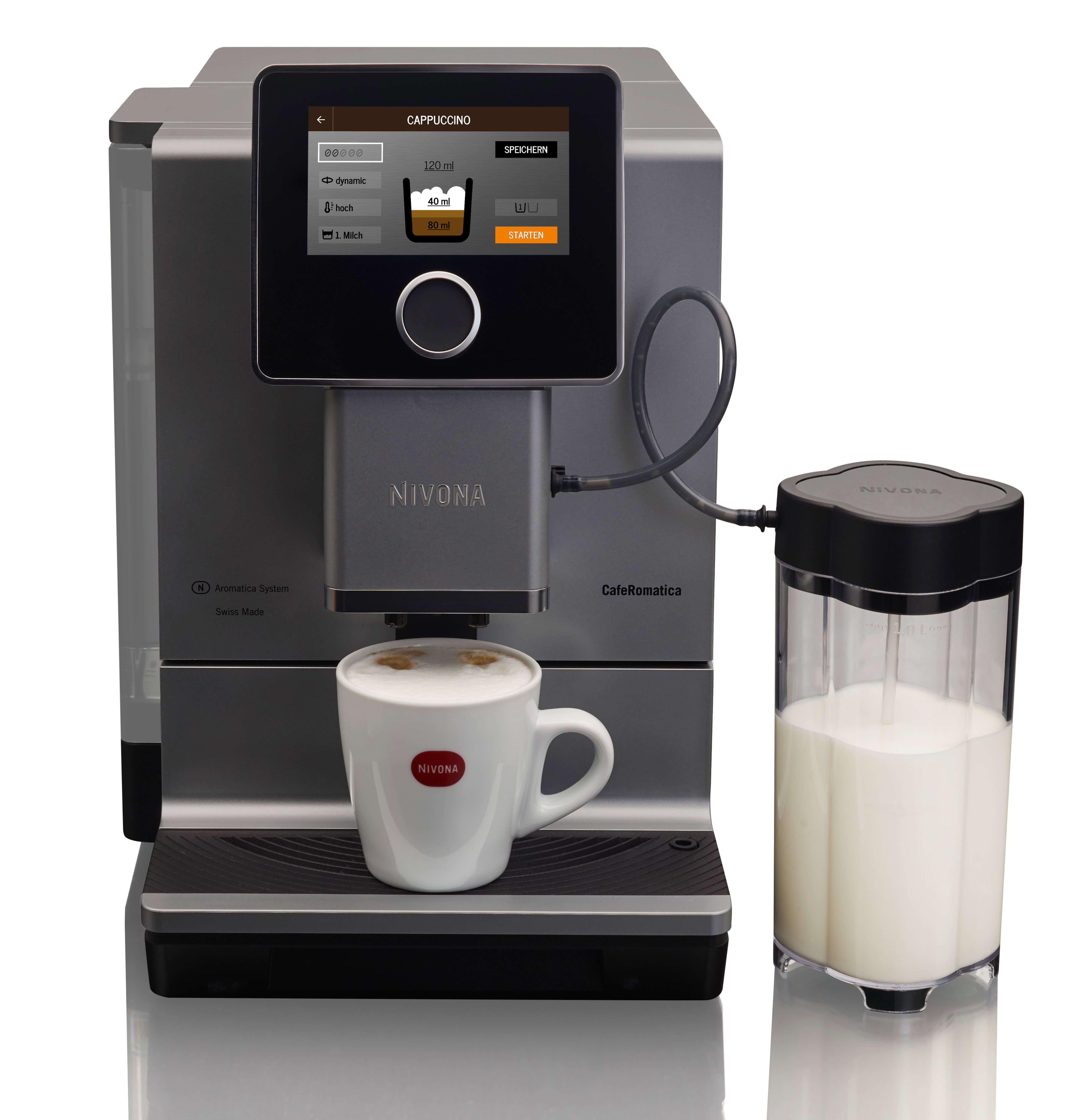 Nivona Kaffeevollautomat Cafe Romantica NICR 970 | Kamasega