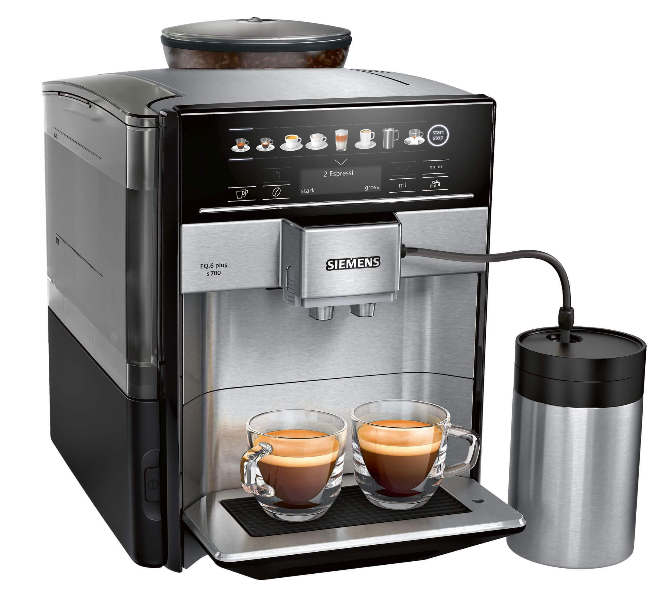 Siemens Kaffeevollautomat EQ plus s700 | Kamasega