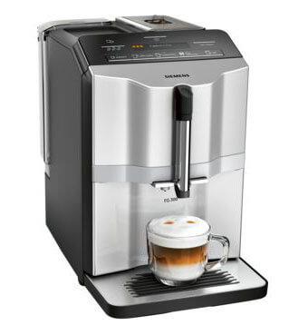 Siemens Kaffeevollautomat EQ s300 silber | Kamasega