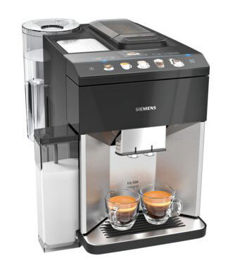 Siemens Kaffeevollautomat EQ500 Integral edelstahl | Kamasega